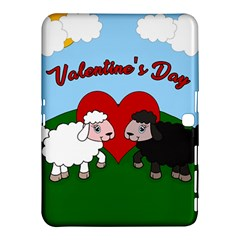 Valentines Day   Sheep  Samsung Galaxy Tab 4 (10 1 ) Hardshell Case  by Valentinaart