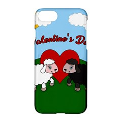 Valentines Day   Sheep  Apple Iphone 8 Hardshell Case by Valentinaart