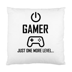 Gamer Standard Cushion Case (one Side) by Valentinaart