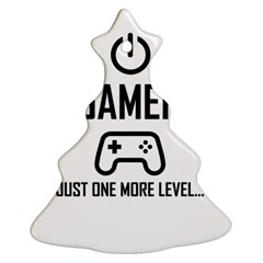 Gamer Christmas Tree Ornament (two Sides) by Valentinaart