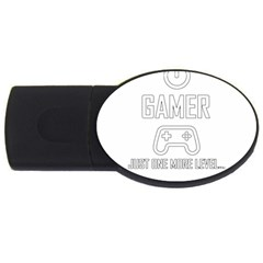 Gamer Usb Flash Drive Oval (2 Gb) by Valentinaart