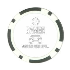 Gamer Poker Chip Card Guard by Valentinaart