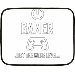 Gamer Double Sided Fleece Blanket (mini)  by Valentinaart