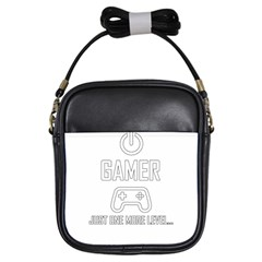 Gamer Girls Sling Bags by Valentinaart