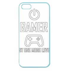 Gamer Apple Seamless Iphone 5 Case (color) by Valentinaart
