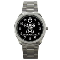 Gamer Sport Metal Watch by Valentinaart