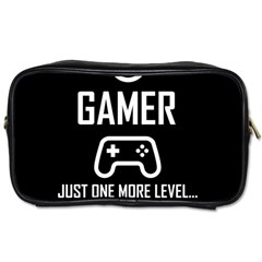Gamer Toiletries Bags by Valentinaart