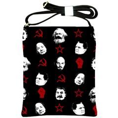 Communist Leaders Shoulder Sling Bags by Valentinaart
