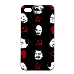 Communist Leaders Apple Iphone 4/4s Seamless Case (black) by Valentinaart