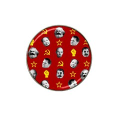 Communist Leaders Hat Clip Ball Marker by Valentinaart
