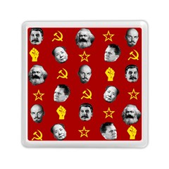 Communist Leaders Memory Card Reader (square)  by Valentinaart