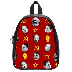 Communist Leaders School Bag (small) by Valentinaart
