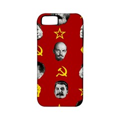Communist Leaders Apple Iphone 5 Classic Hardshell Case (pc+silicone) by Valentinaart