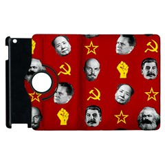 Communist Leaders Apple Ipad 2 Flip 360 Case by Valentinaart
