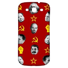 Communist Leaders Samsung Galaxy S3 S Iii Classic Hardshell Back Case by Valentinaart