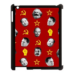 Communist Leaders Apple Ipad 3/4 Case (black) by Valentinaart