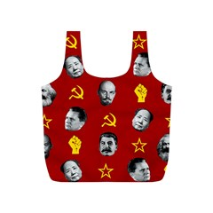 Communist Leaders Full Print Recycle Bags (s)  by Valentinaart