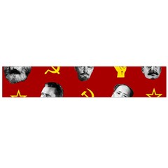 Communist Leaders Large Flano Scarf  by Valentinaart