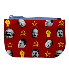 Communist Leaders Large Coin Purse by Valentinaart