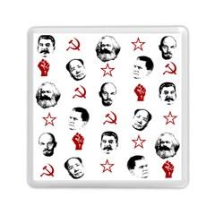 Communist Leaders Memory Card Reader (square)  by Valentinaart