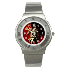 Lenin  Stainless Steel Watch by Valentinaart