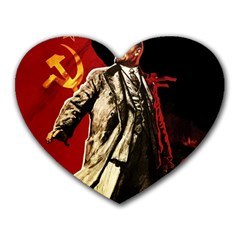 Lenin  Heart Mousepads