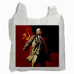 Lenin  Recycle Bag (one Side) by Valentinaart