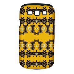 Ornate Circulate Is Festive In Flower Decorative Samsung Galaxy S Iii Classic Hardshell Case (pc+silicone) by pepitasart