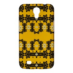 Ornate Circulate Is Festive In Flower Decorative Samsung Galaxy Mega 6 3  I9200 Hardshell Case by pepitasart