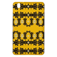 Ornate Circulate Is Festive In Flower Decorative Samsung Galaxy Tab Pro 8 4 Hardshell Case by pepitasart