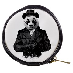 Rorschach Panda Mini Makeup Bags by jumpercat