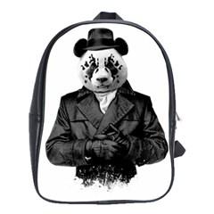Rorschach Panda School Bag (large) by jumpercat