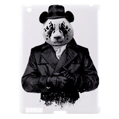 Rorschach Panda Apple Ipad 3/4 Hardshell Case (compatible With Smart Cover) by jumpercat