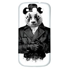 Rorschach Panda Samsung Galaxy S3 S Iii Classic Hardshell Back Case by jumpercat