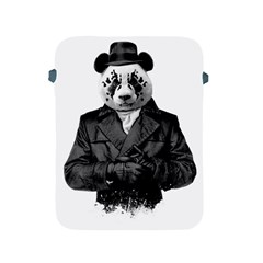 Rorschach Panda Apple Ipad 2/3/4 Protective Soft Cases by jumpercat