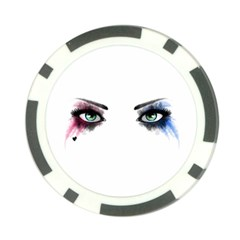 Look Of Madness Poker Chip Card Guard by jumpercat