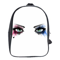 Look Of Madness School Bag (large) by jumpercat