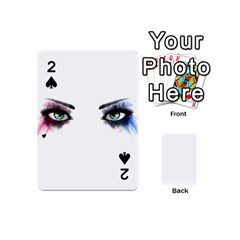 Look Of Madness Playing Cards 54 (mini)  by jumpercat