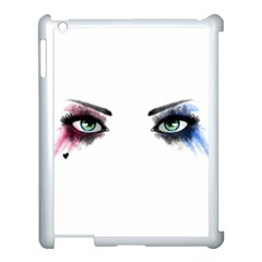 Look Of Madness Apple Ipad 3/4 Case (white) by jumpercat