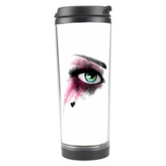 Look Of Madness Travel Tumbler by jumpercat