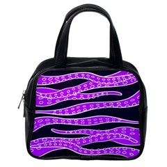Purple Tentacles Classic Handbags (one Side) by jumpercat