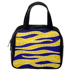 Yellow Tentacles Classic Handbags (one Side) by jumpercat