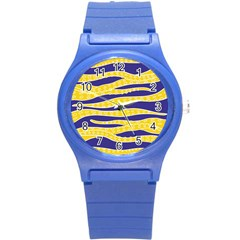Yellow Tentacles Round Plastic Sport Watch (s) by jumpercat