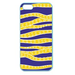 Yellow Tentacles Apple Seamless Iphone 5 Case (color)