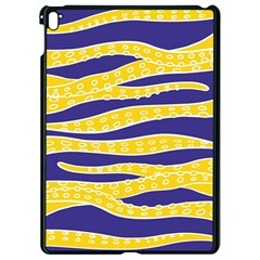Yellow Tentacles Apple Ipad Pro 9 7   Black Seamless Case by jumpercat