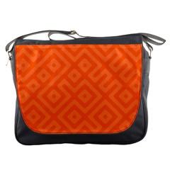 Seamless Pattern Design Tiling Messenger Bags