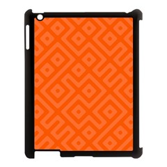 Seamless Pattern Design Tiling Apple Ipad 3/4 Case (black)