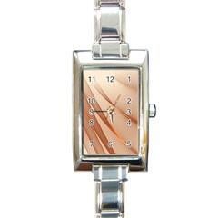 Background Light Glow Abstract Art Rectangle Italian Charm Watch