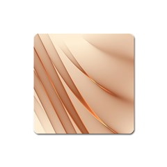 Background Light Glow Abstract Art Square Magnet