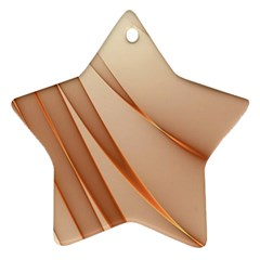 Background Light Glow Abstract Art Star Ornament (two Sides)